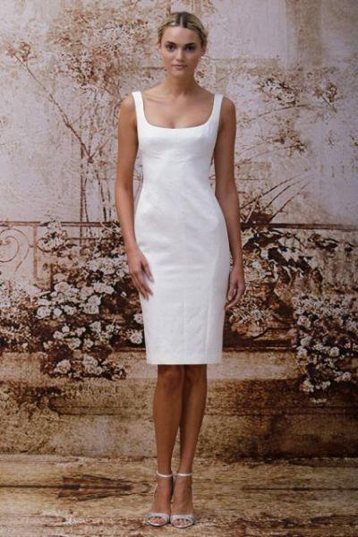 Vestidos de novia simples