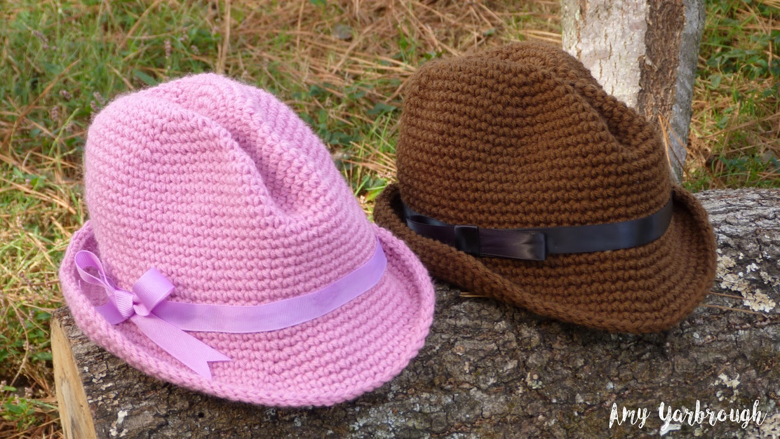 May I present to you my latest crochet pattern  the Snappy Fedora in 3  Sizes! (Free pattern available below) 3497a4d20a4