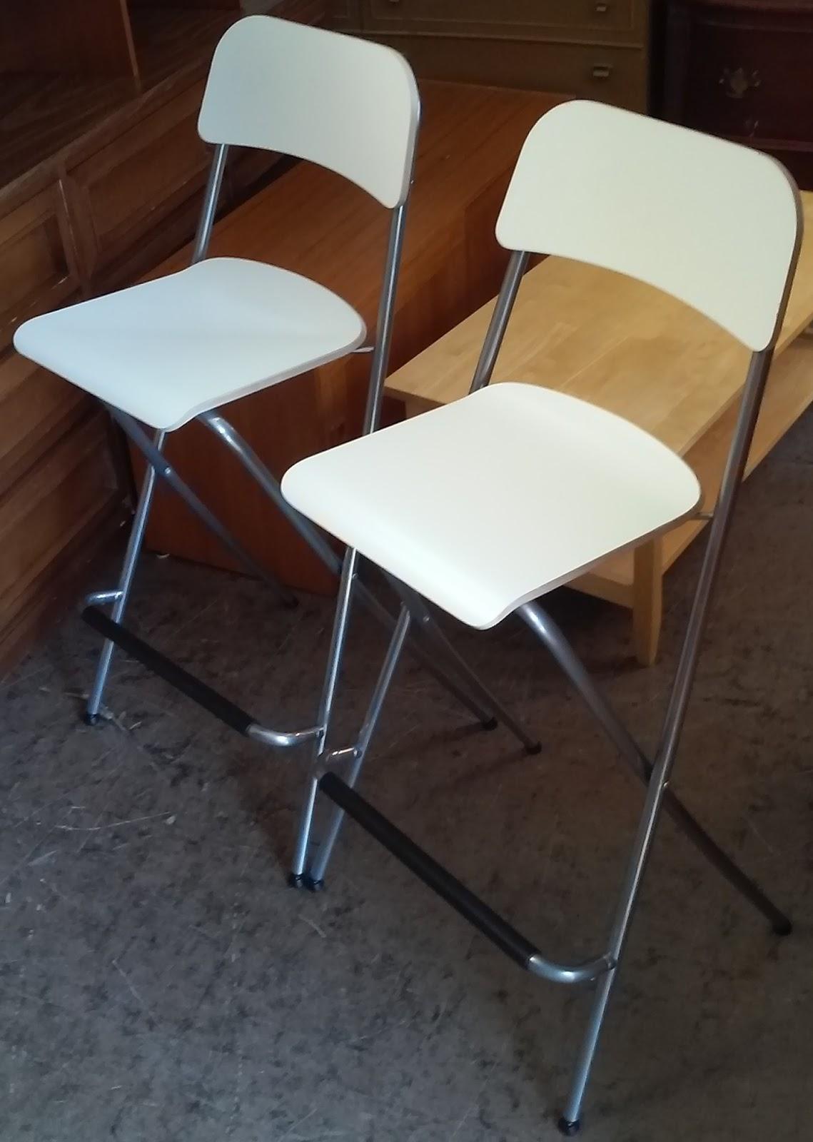 Uhuru Furniture Amp Collectibles Sold White Folding Bar