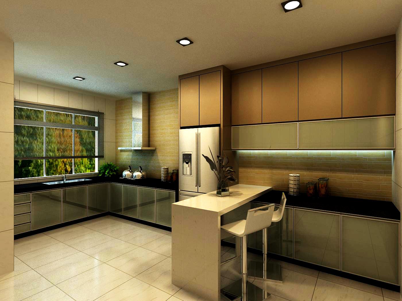 Dry And Wet Kitchen Design Photos