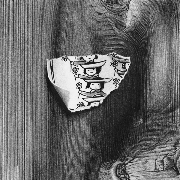 15-Tiptoeing-with-solemn-face-Christina-Empedocles-Pencil-Drawings-Illusions-that-Look-3D-www-designstack-co