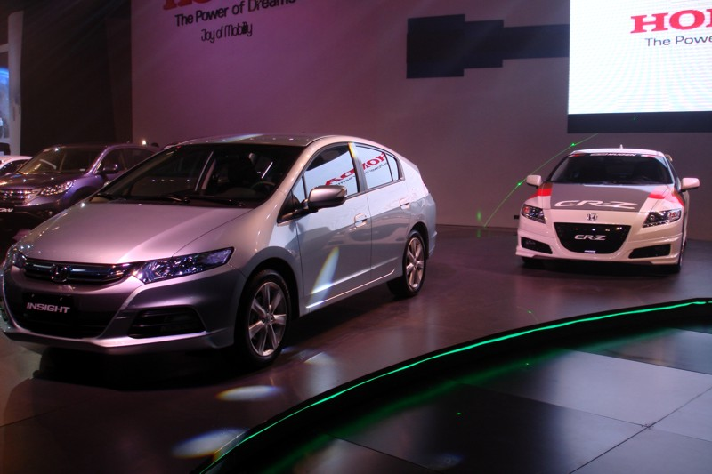 Pims 2012 honda preview insight cr z modulo accessories for Value car motor city