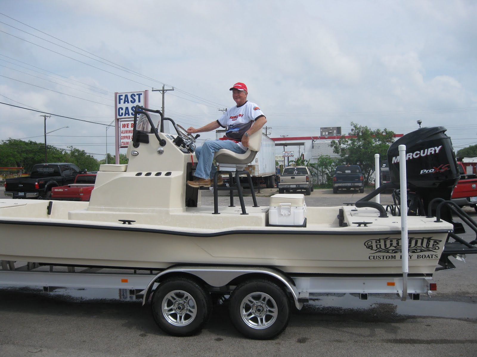 Rons Rockport Fishing Reports New Haynie 24 Cat Boat