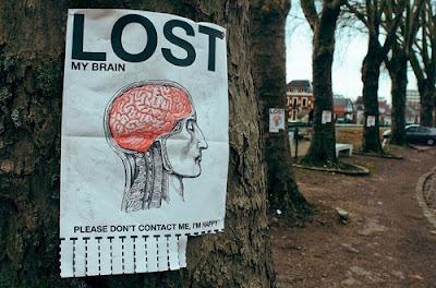 Quatsch Gehirn verloren
