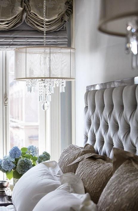 33bb396a87f616 Detalhes de charme nos quartos: pendentes ao lado da cama   Casinha ...