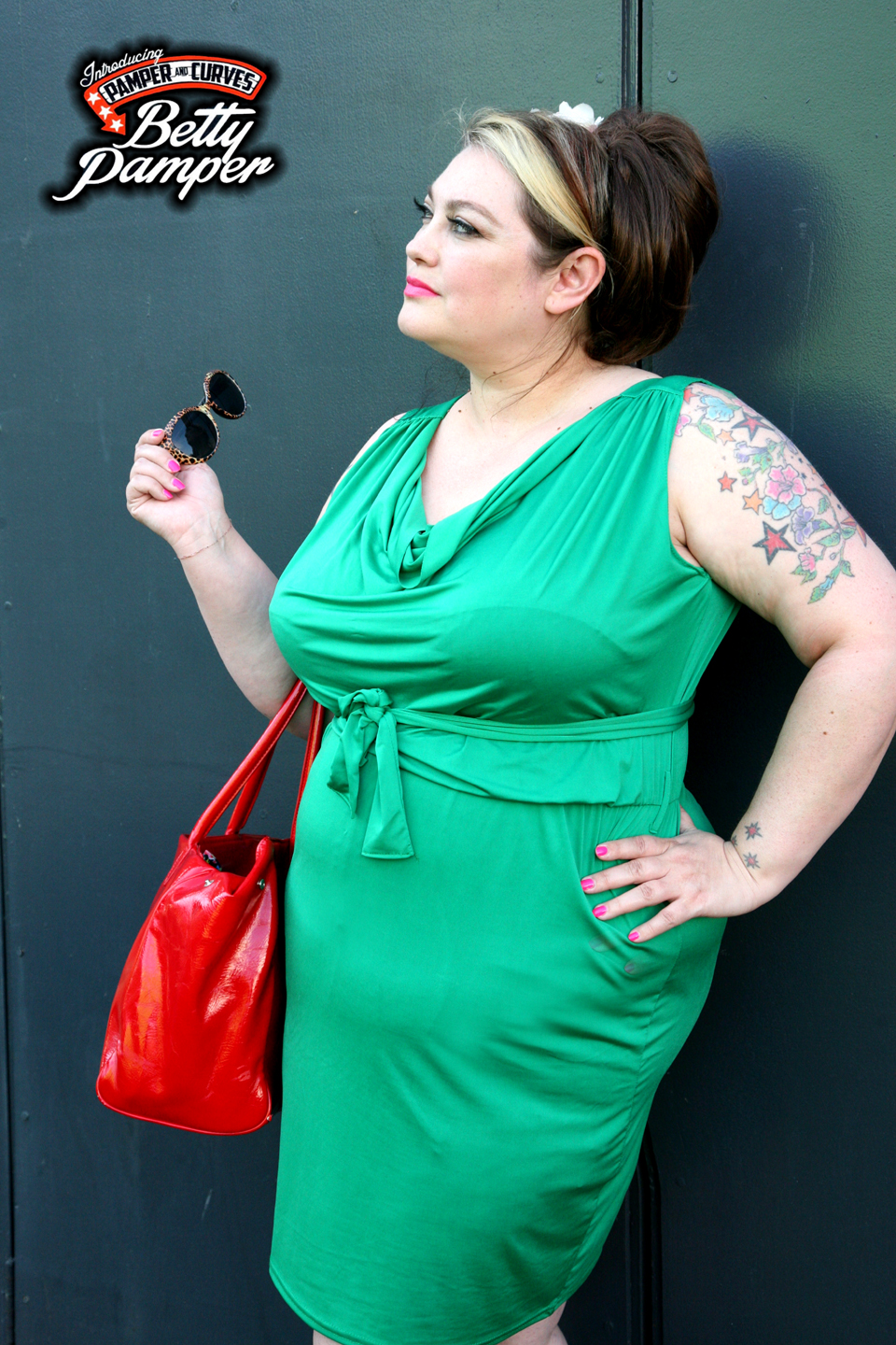 e021ace92c16a Plus Size Green Goddess  A Review of Apples and Pears