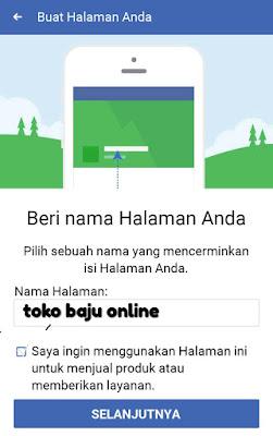 Cara membuat halaman facebook untuk bisnis online