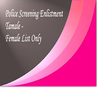 Tamale female screening list