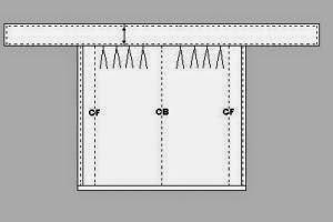 DIY  Cómo hacer una falda o un vestido envolvente - yo elijo Coser 87290ae19c64