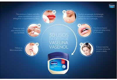 Vaselina, um mimo para a minha pele