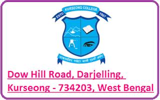 Kurseong College, Dow Hill Road, Darjelling, Kurseong - 734203, West Bengal
