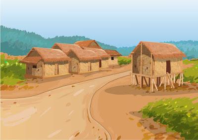 भारतीय गाँव या भारतीय किसान