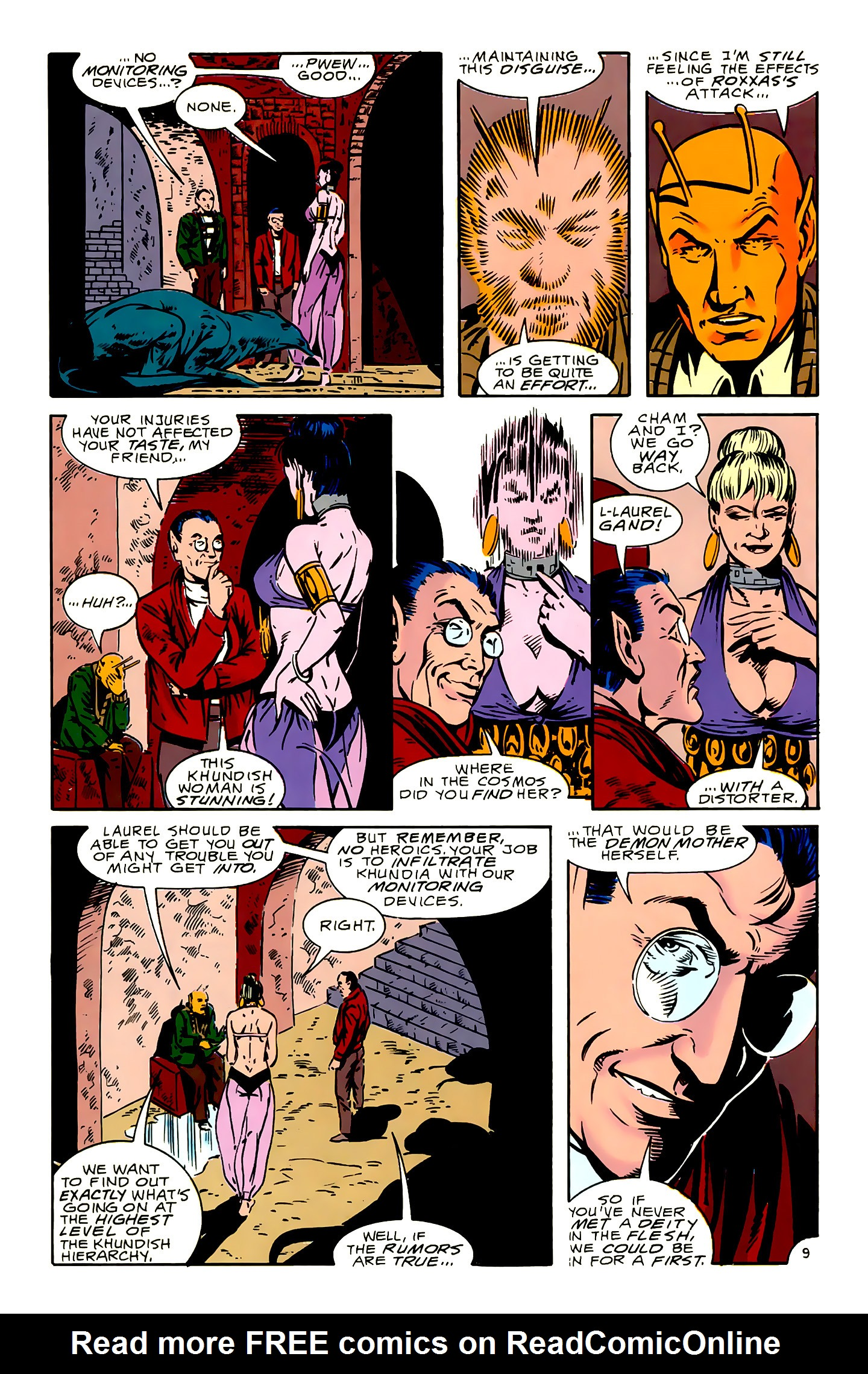 Legion of Super-Heroes (1989) 16 Page 9