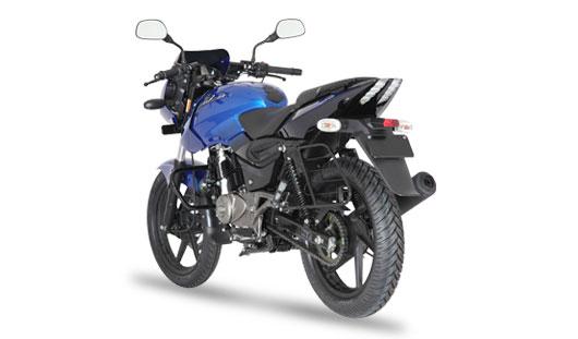 New Bajaj Pulsar 150 rear look