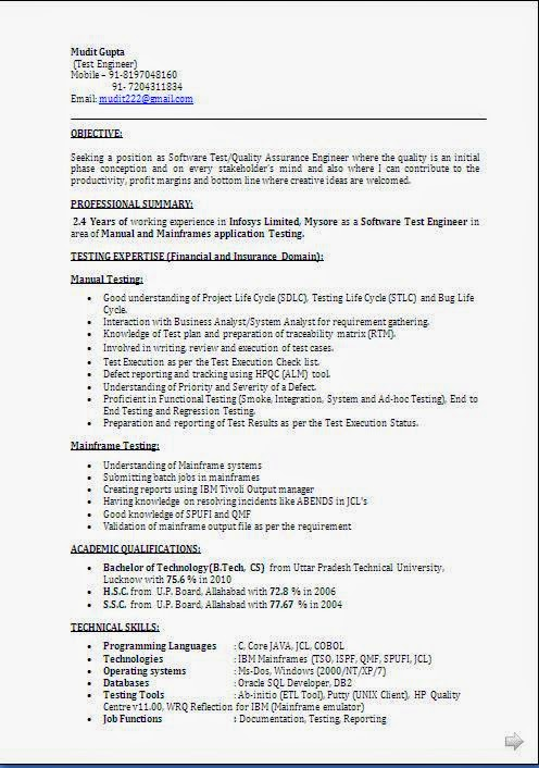 100 sle resume for experienced software engineer free