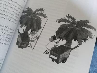 Pengembangan pengelolaan kelapa sawit masih lebih berkembang di negeri tetangga (dokpri)