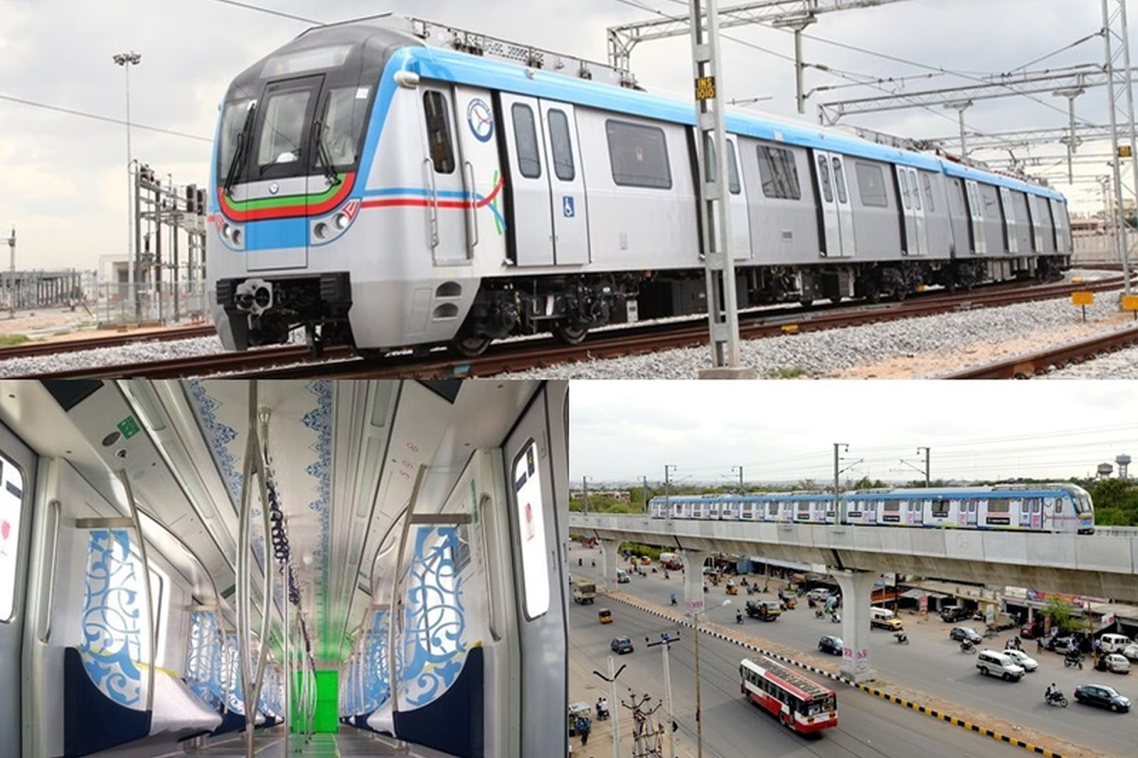 Raghu's column!: The Hyderabad Metro Rail has finally arrived!