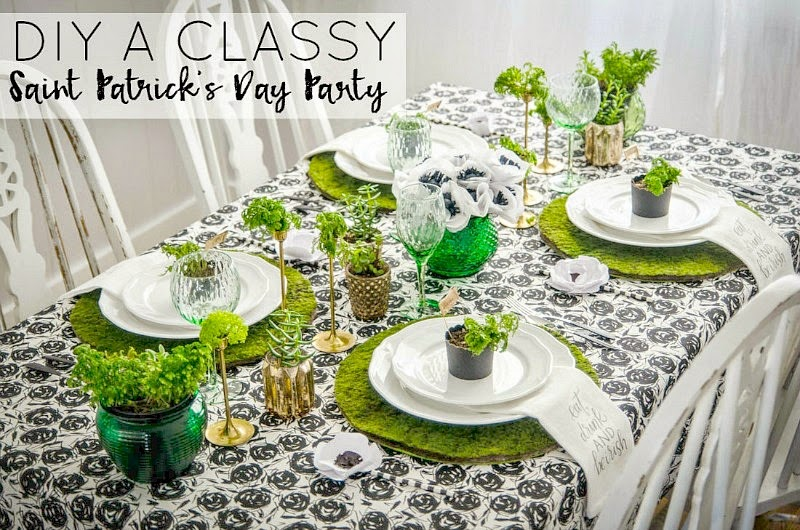 St. Patrick's Day Blogger Party