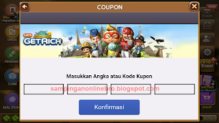 offline event coupon gratis 500 diamond 16 digit