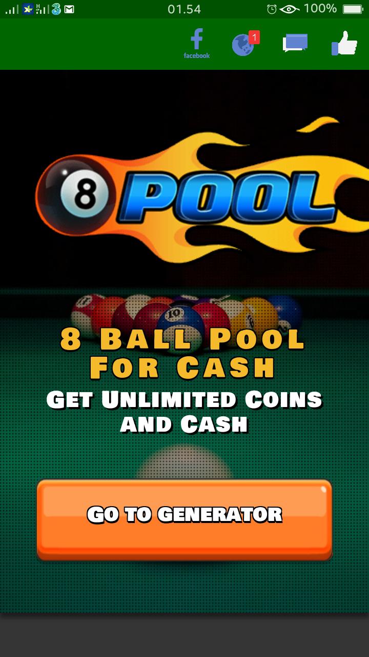 Cara Mudah dan Ampuh Mendapatkan Koin + Cash 8 Ball Pool Gratis! Server2