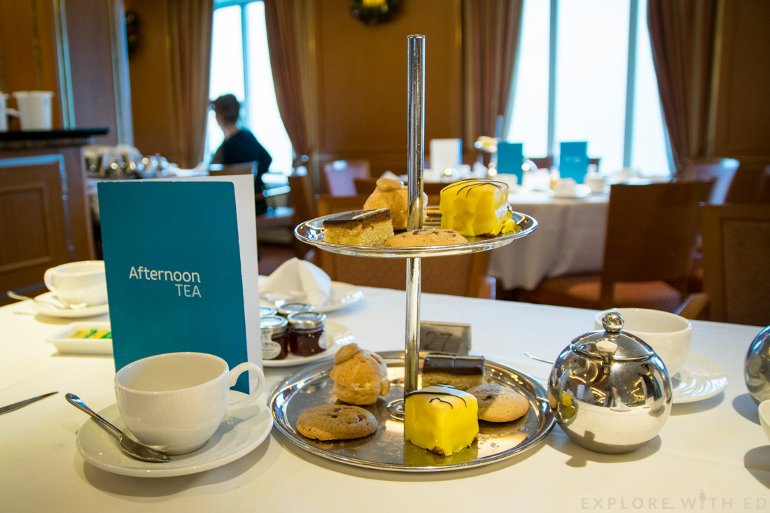 P&O Cruises Afternoon Tea, Cake Stand