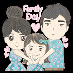 Lovely Family Ver.Mom day
