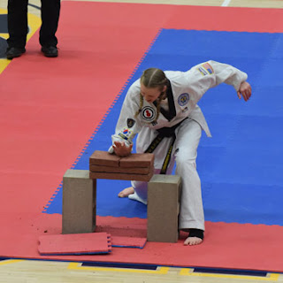 Greatmats Winter 2018 Badger State Games Martial Arts Brick Breaking