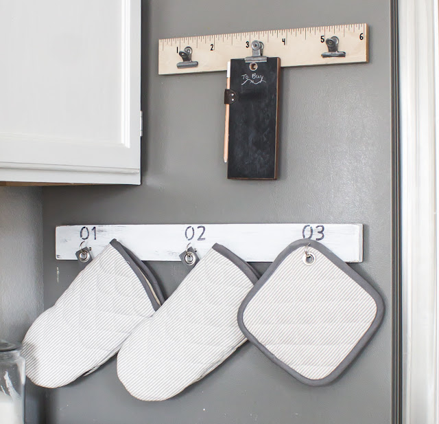 DIY Magnetic Pot Holder Rack