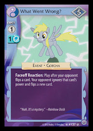 My Little Pony What Went Wrong? Premiere CCG Card