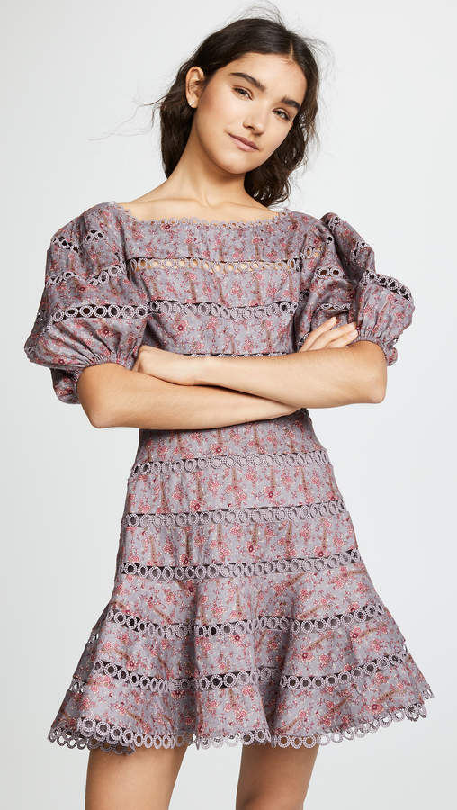 Zimmermann Juniper Contoured Ring Dress
