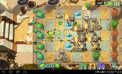 تستعيد شركة EA روح اللعبة الأصلية في النسخة الثانية من لعبتها الشهيرة Plants vs Zombies، مع إضافة أشكالٍ جديدةٍ من الزومبي والنّباتات الّتي تستخدمها في اللّعبة