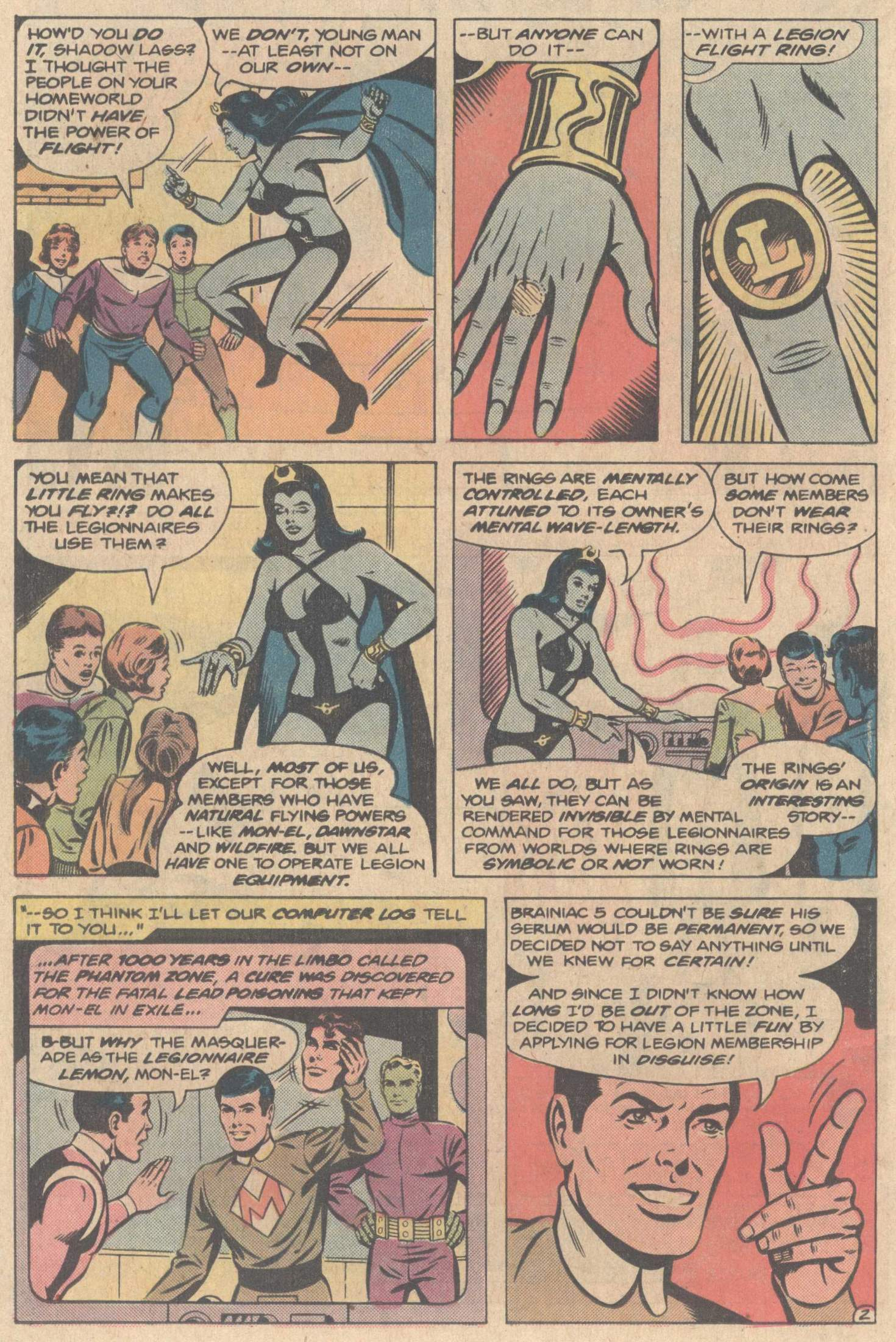 Legion of Super-Heroes (1980) 267 Page 25