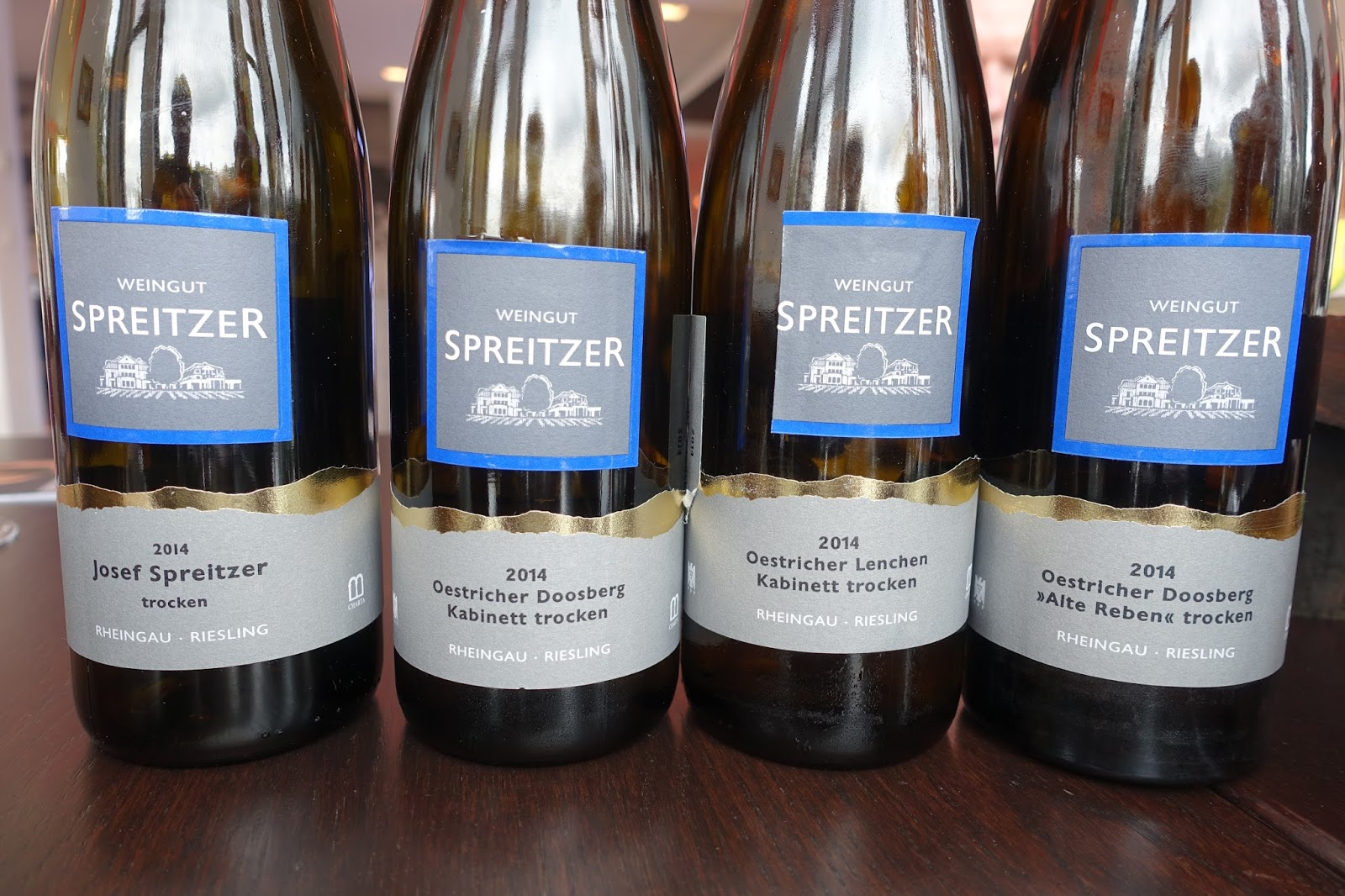 Riesling Trocken Wein Schiller Wine Tour And Tasting At Weingut Spreitzer In Oestrich
