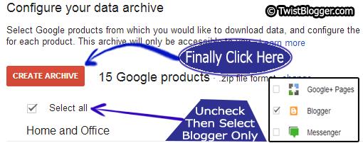 easily backup my blog posts