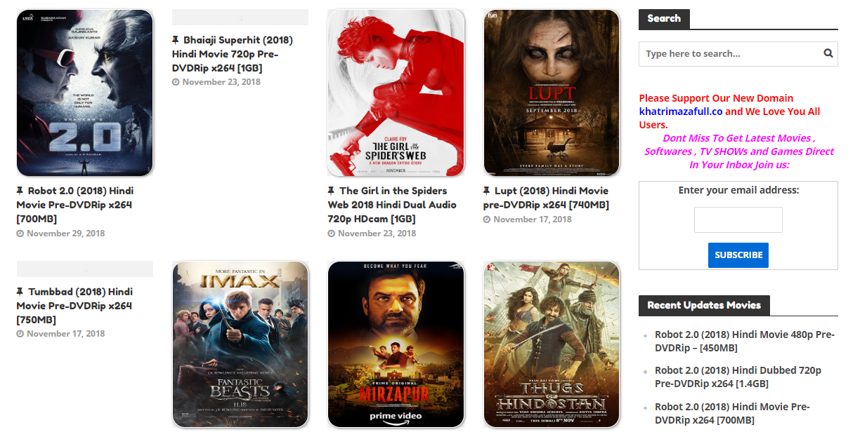 Latest Movies Download in HD just one click