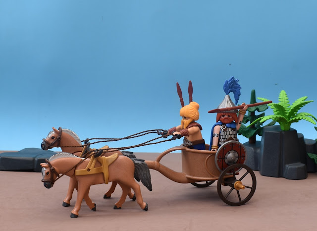 PLAYMOBIL CUSTOM GAUL CART