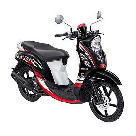 Yamaha Fino Sporty FI Urban Black Sepeda Motor
