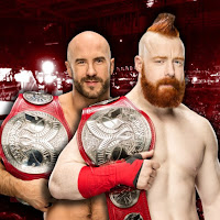 Cesaro and Sheamus