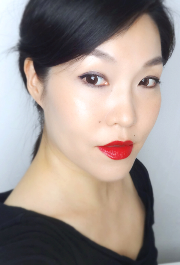 Bobbi Brown Luxe Lip Color Russian Doll FOTD