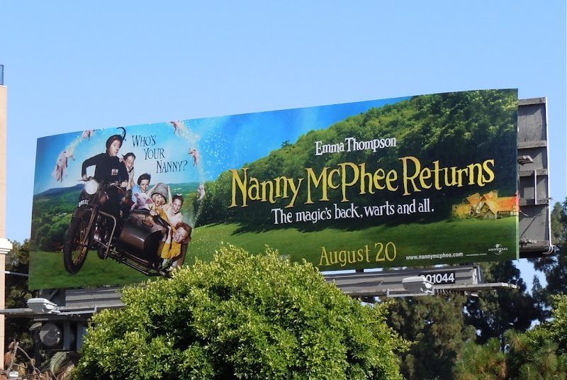 Nanny McPhee Returns billboard