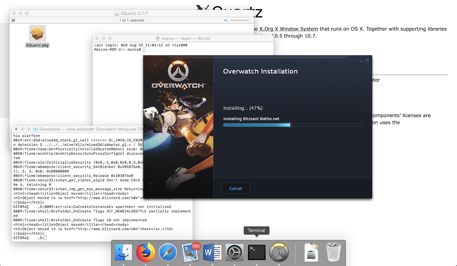 Come installare Overwatch su Mac