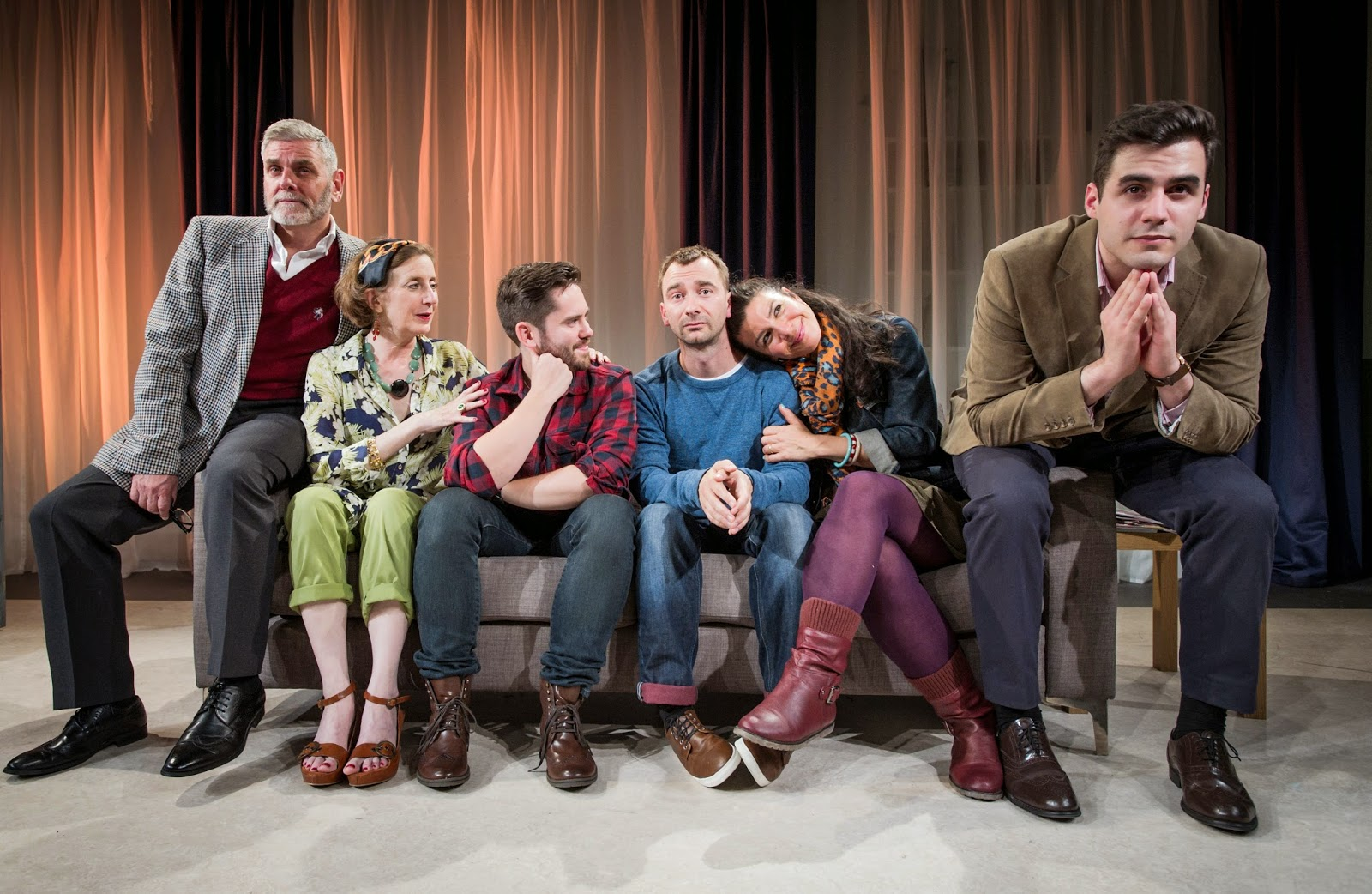 FIRST LOOK: Next Fall at the Southwark Playhouse, starring