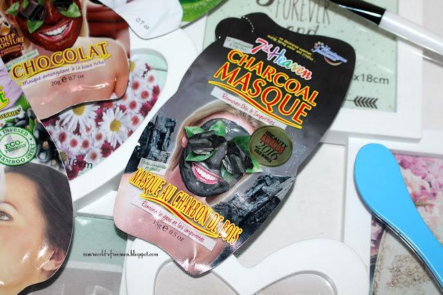 Charcoal Masque - oczyszczająca maska 2w1