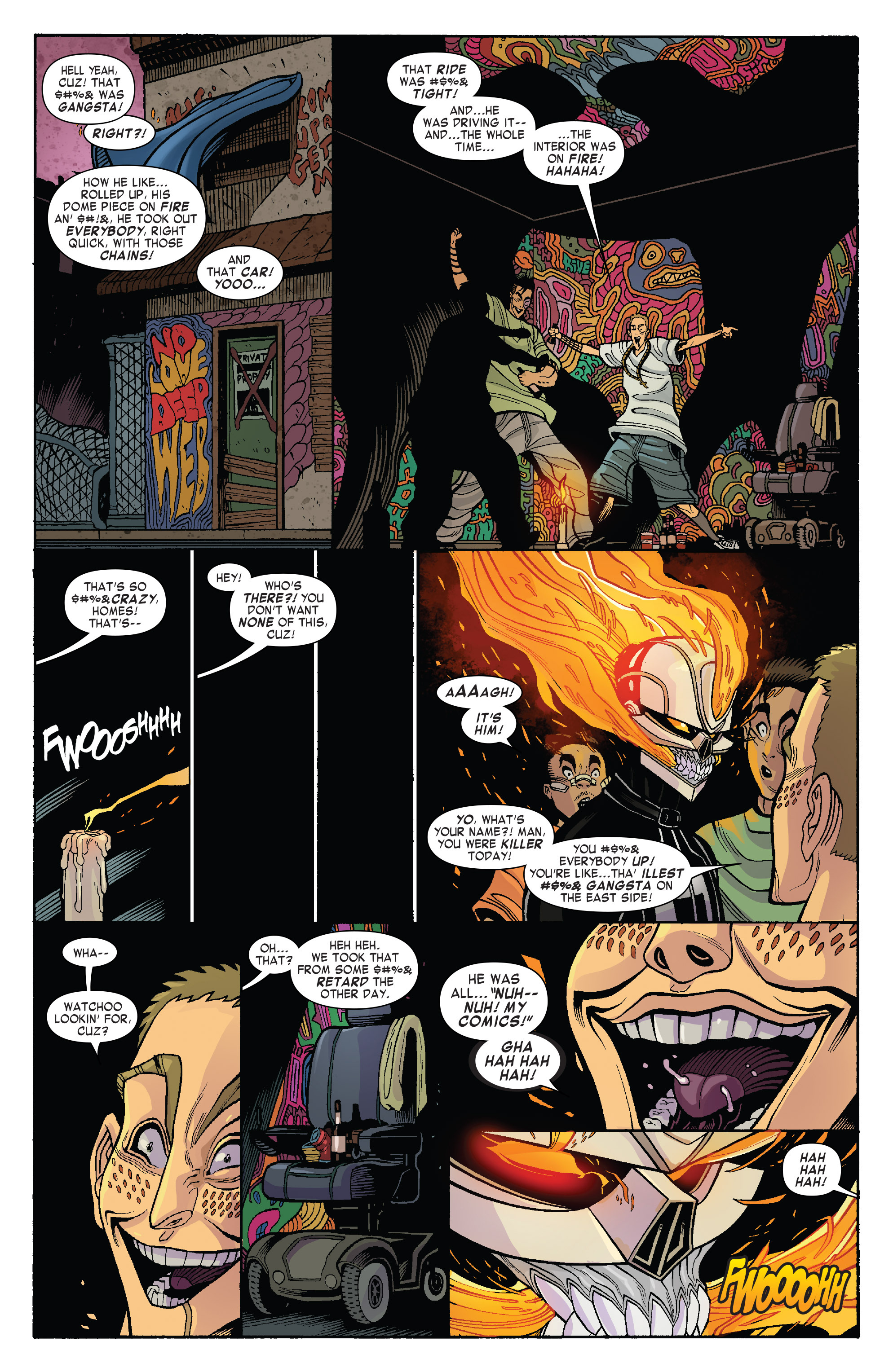 Read online All-New Ghost Rider comic -  Issue #5 - 20