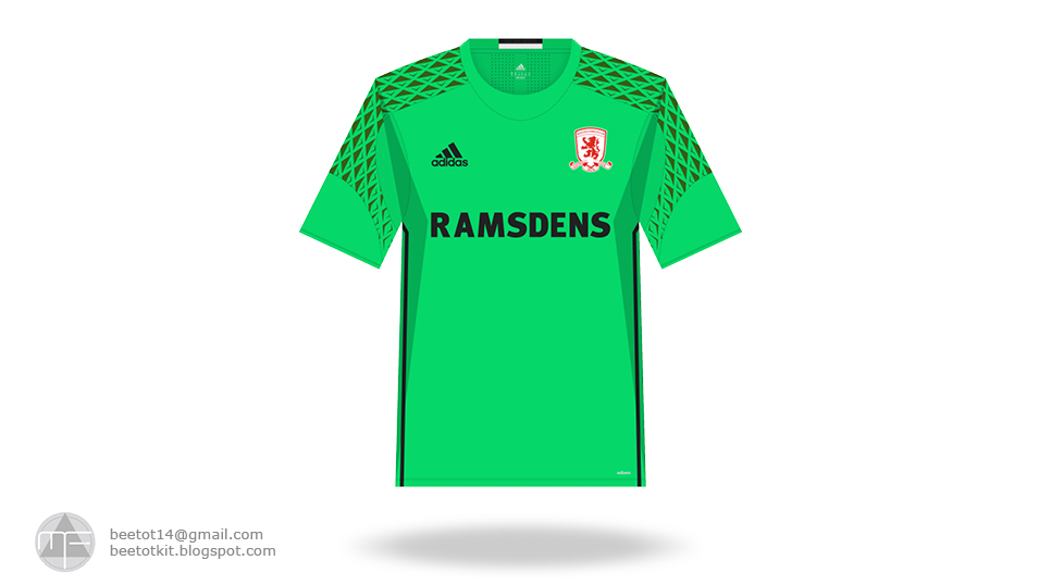 Beetot Kit: Middlesbrough FC Kit 16/17