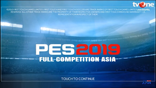 Download FTS Mod PES 2019 Full Liga Asia Offline Grafik HD