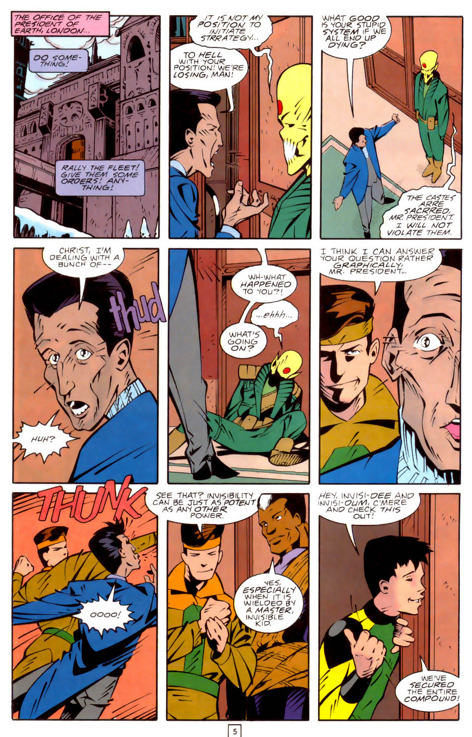 Legion of Super-Heroes (1989) 35 Page 5