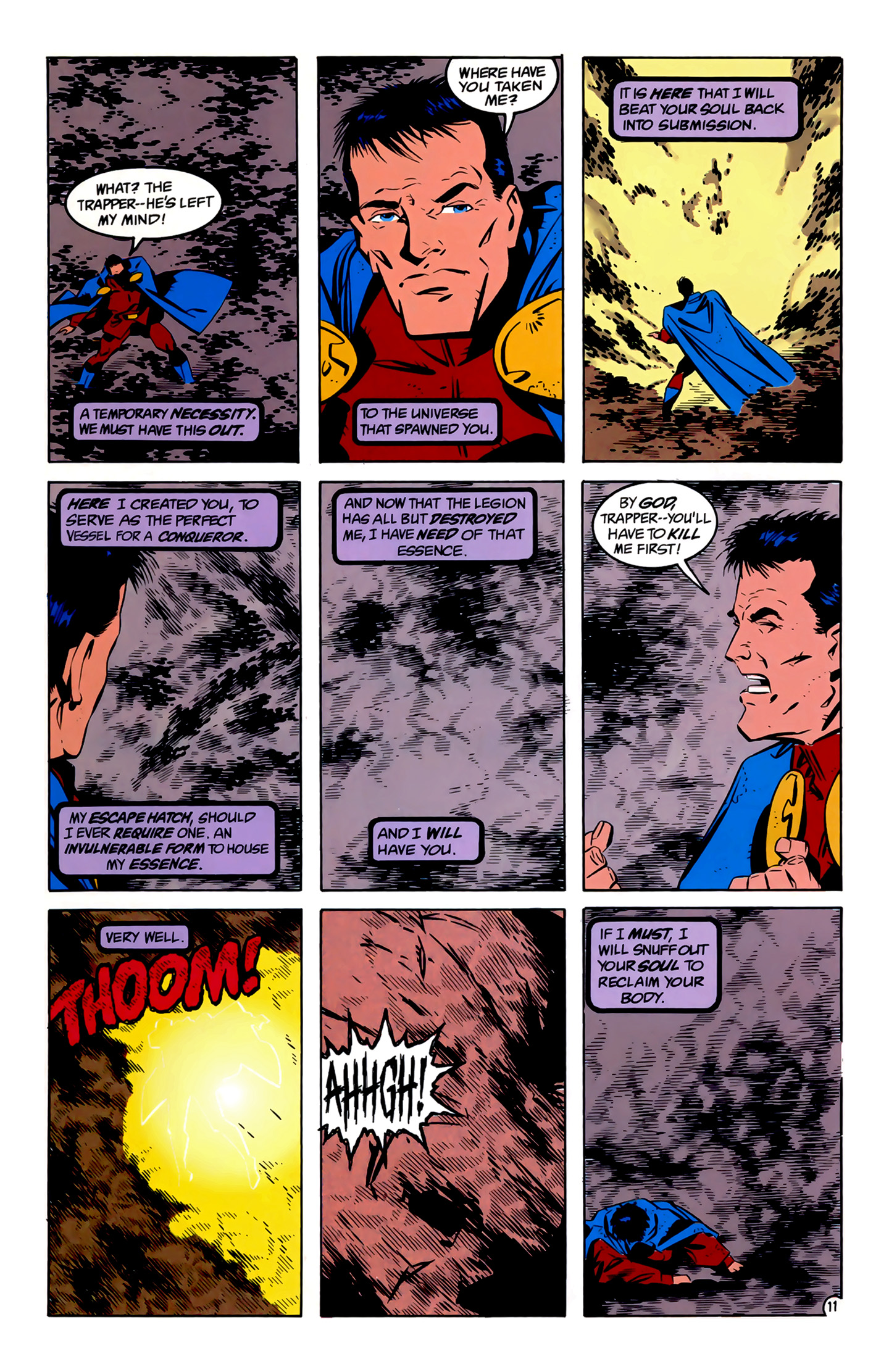 Legion of Super-Heroes (1989) 4 Page 11