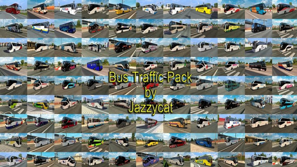 Jazzycat – Bus Traffic Pack 4.4