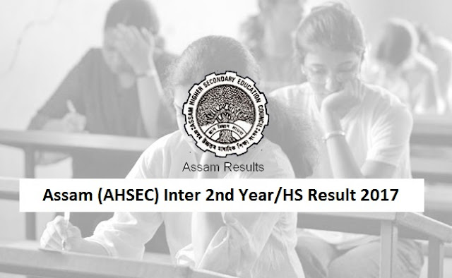 Assam Inter 2nd Year Result 2017
